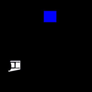 Стекло салона глухое 1161х1078 на Вектор NEXT белое