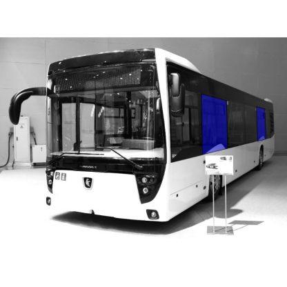 Стекло салона на автобус НефАЗ-5299-40-52 1220х1850 серое