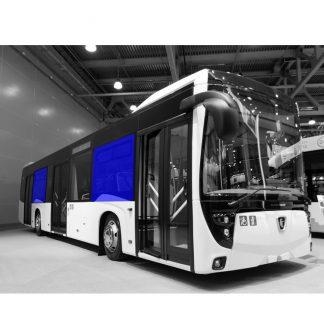 Стекло салона на автобус НефАЗ-5299-40-52 1220х1980 серое