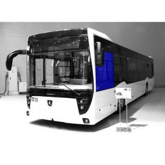 Стекло водителя на автобус НефАЗ-5299-40-52 серое