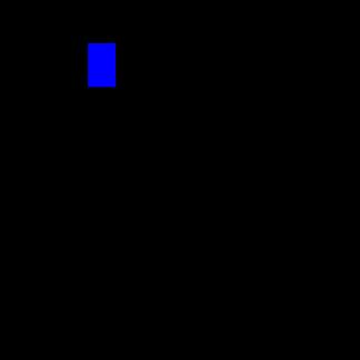 Стекло салона глухое 1078х704 на Вектор NEXT белое