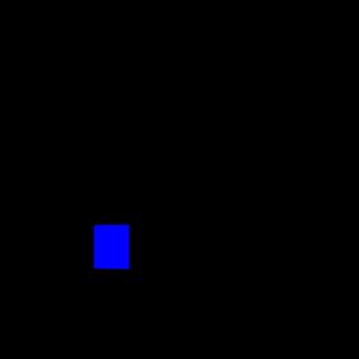 Стекло салона глухое 930х1076 на Вектор NEXT белое