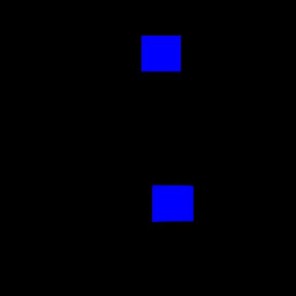 Стекло салона глухое 1078х1194 на Вектор NEXT белое